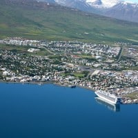 Overview of Akureyri Cruise Port