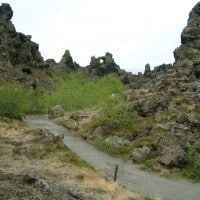 Dimmuborgir, Akureyri day tour for cruise ships, Jewels of the North