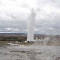 Geysir geothermal field, shore excursions to the Golden Circle